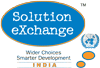Solution Exchange India logo